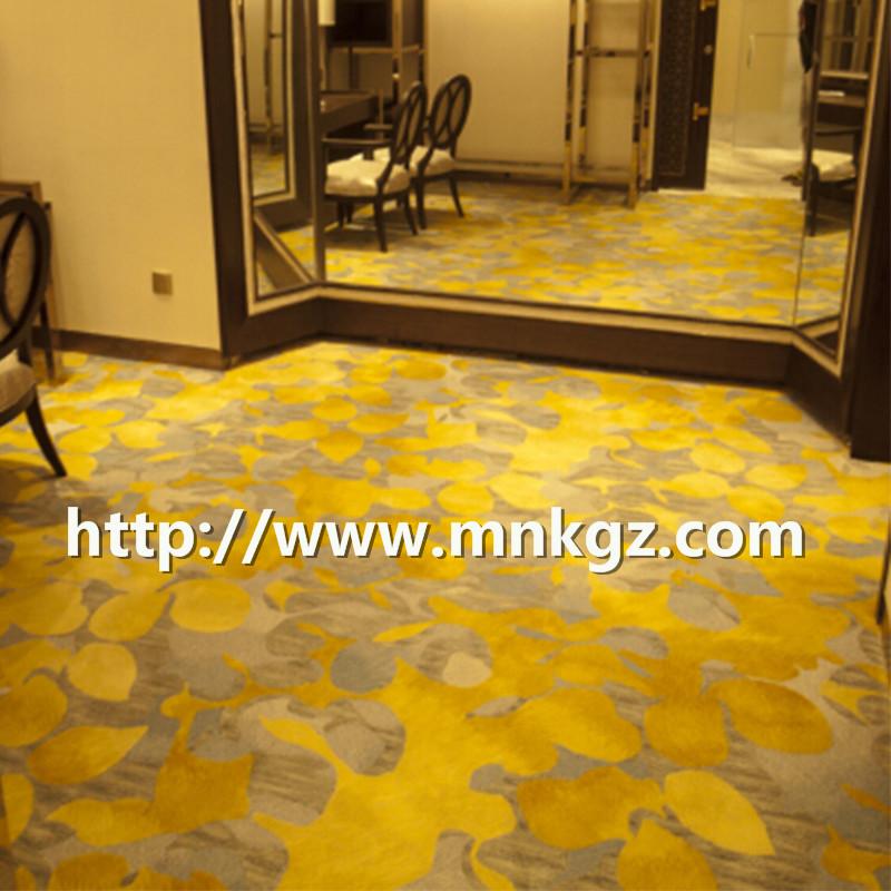 高档阿克明地毯满铺招待室地毯