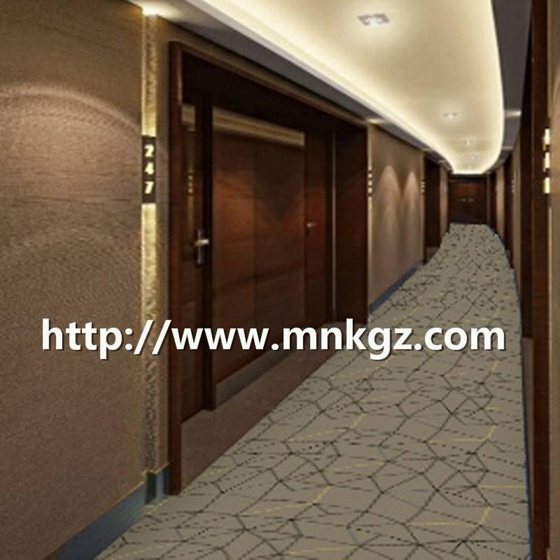 酒店走道满铺地毯简约风格阿克明地毯