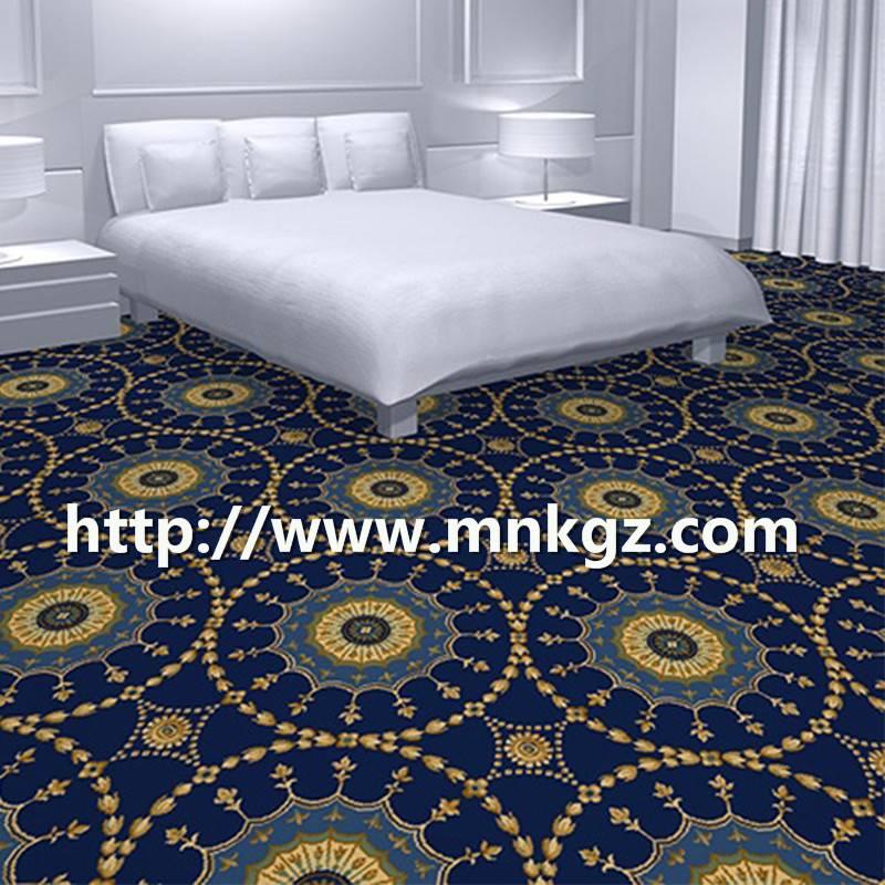 定制阿克明地毯星级酒店卧室地毯