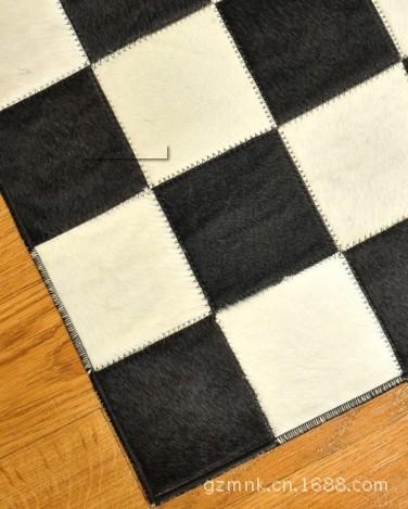 皮毛组合地毯