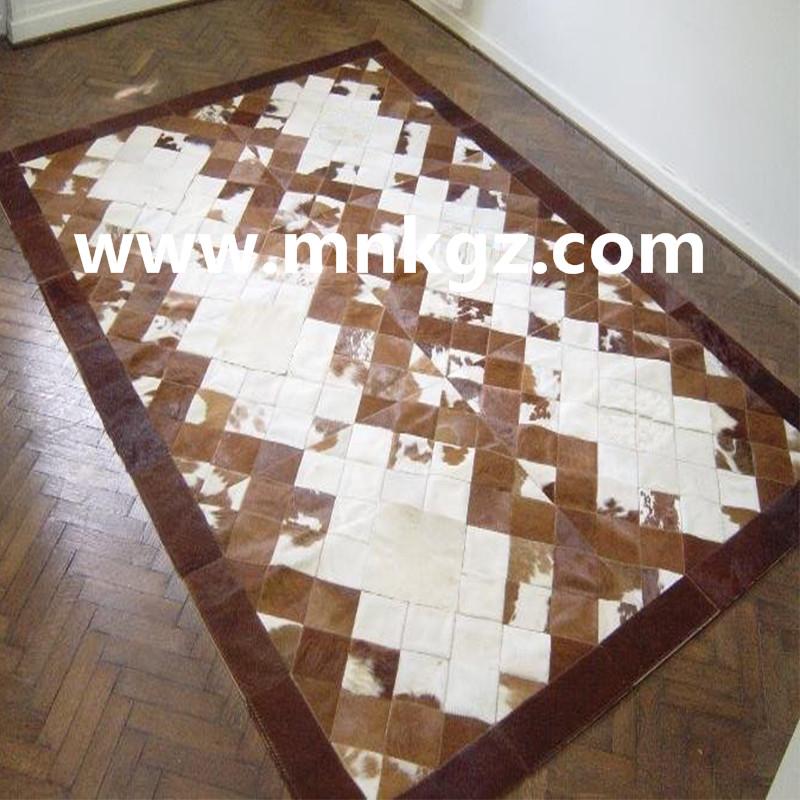 纯天然奶牛拼皮地毯,客厅,书房毯