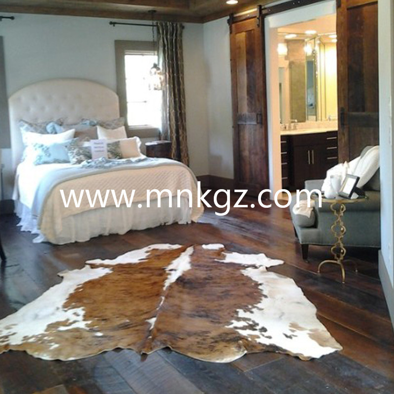 整张牛皮客厅地毯