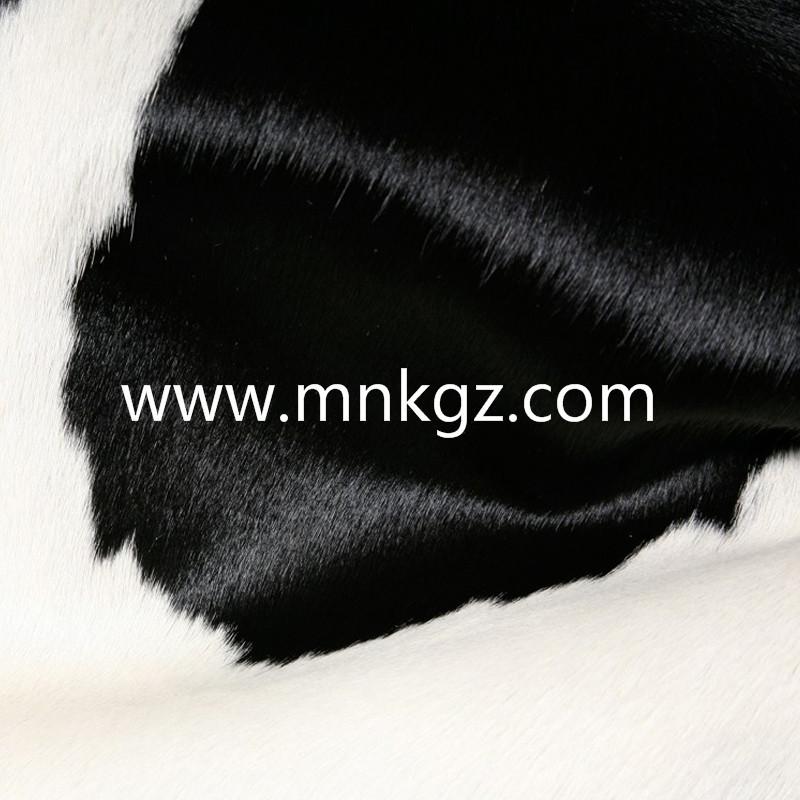 纯天然整张奶牛牛皮地毯