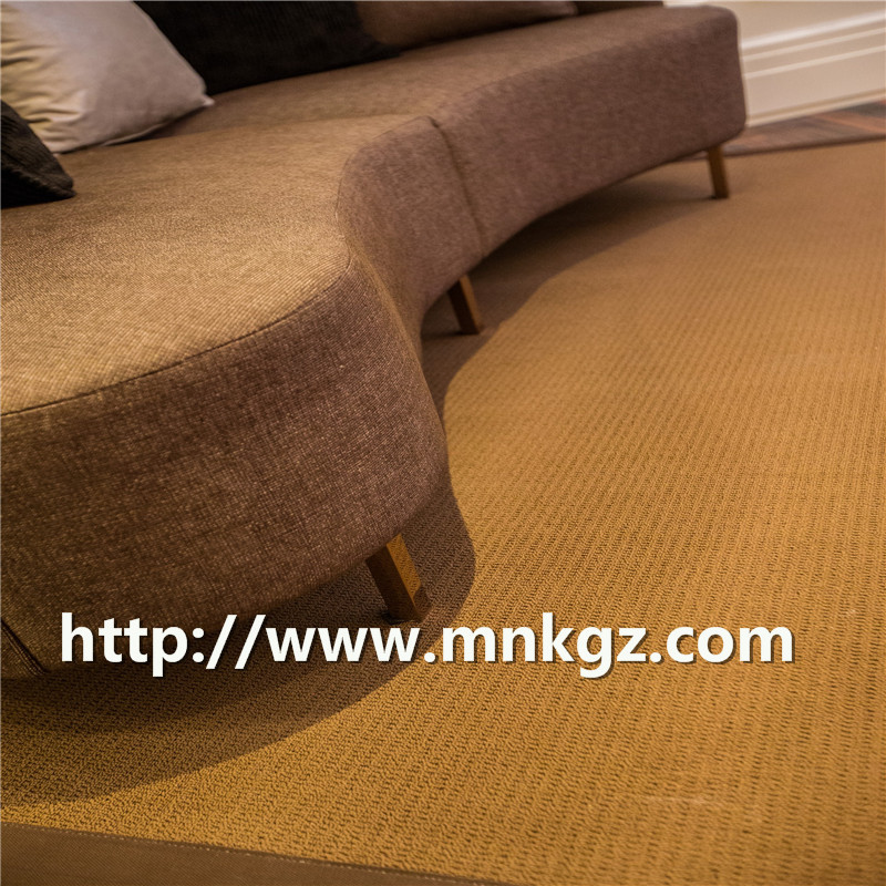北欧风 羊毛混纺地毯 耐磨不掉毛防尘家居地毯 工程满铺地毯