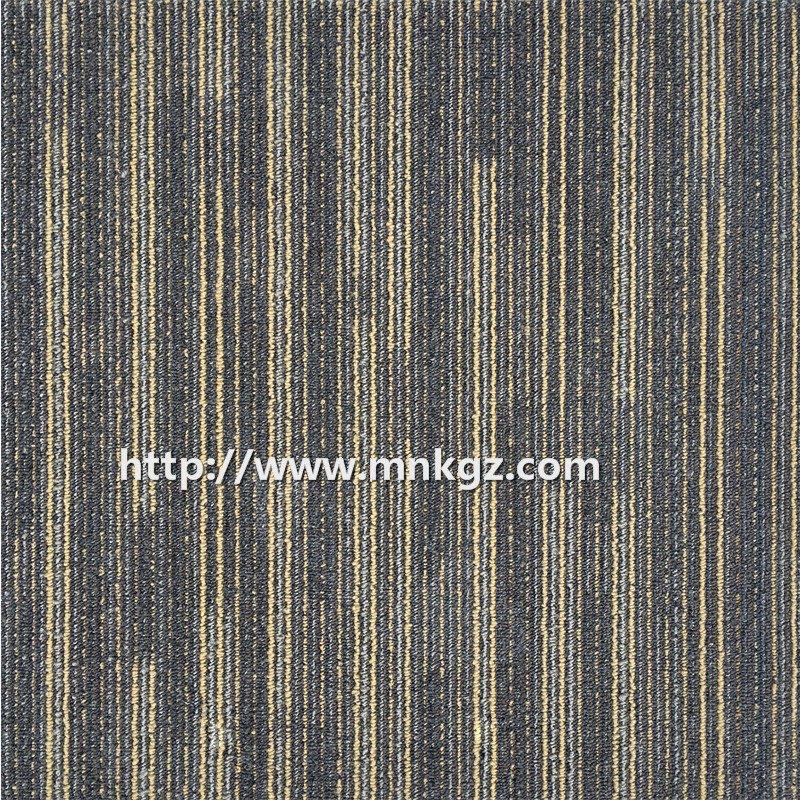 花样拼接书房地毯尼龙方块毯