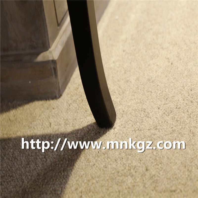 满铺纯羊毛地毯高端定制家居地毯北欧简约阻燃环保