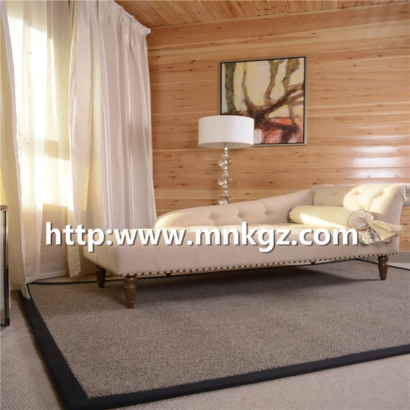 满铺羊毛混纺地毯高端定制家居地毯北欧简约装饰风格