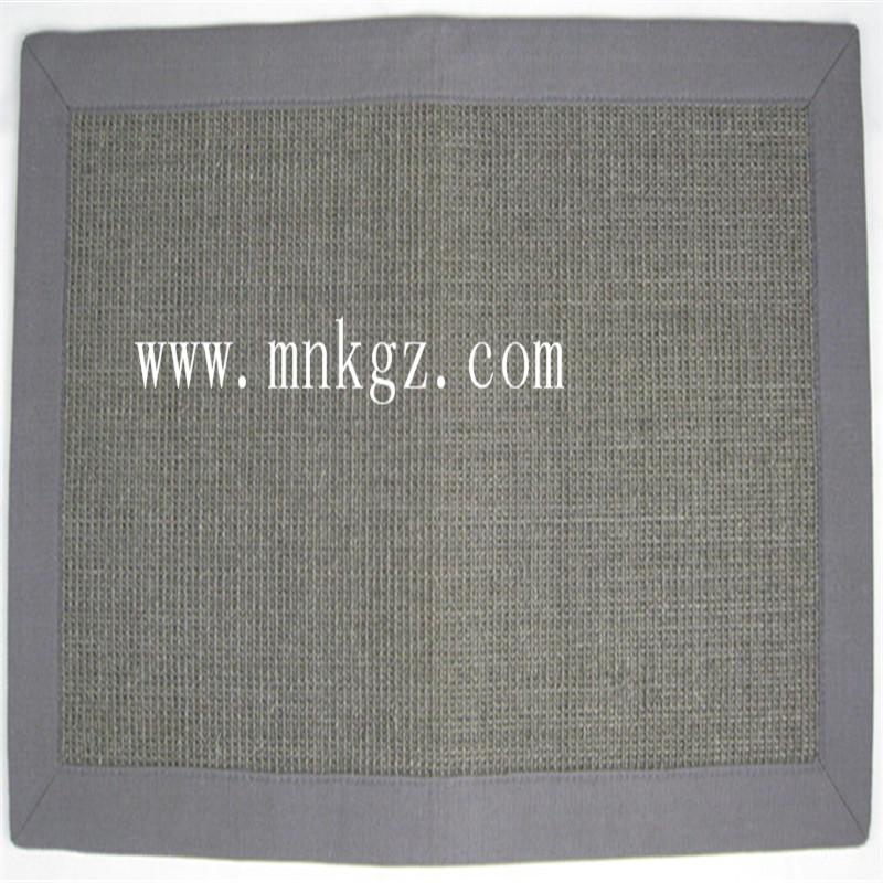 天然剑麻地毯 防滑防静电 隔音效果好 可定制尺寸