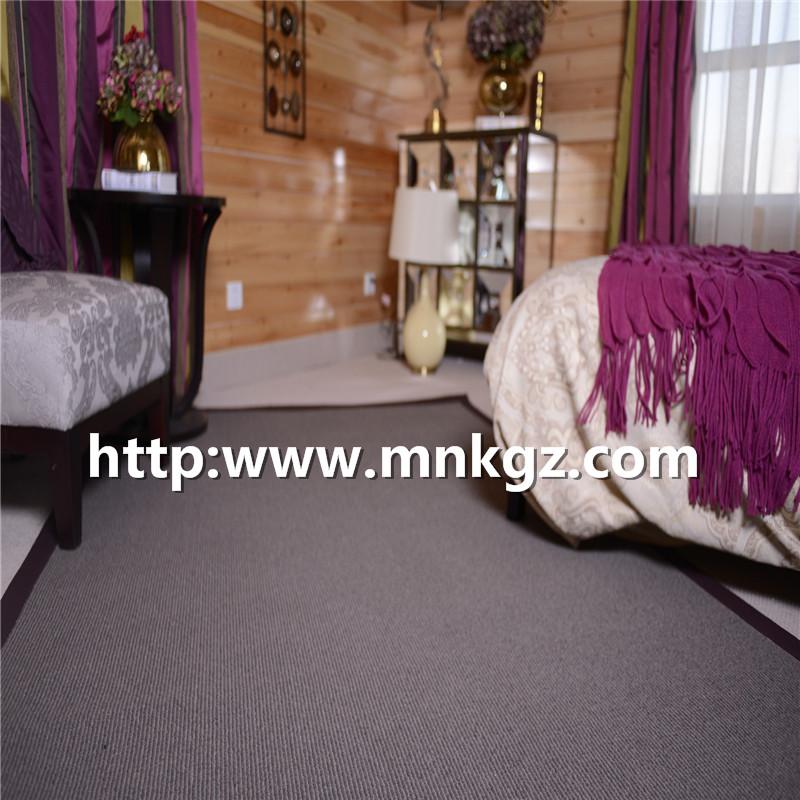 北欧素色简约地毯高端家用定制地毯