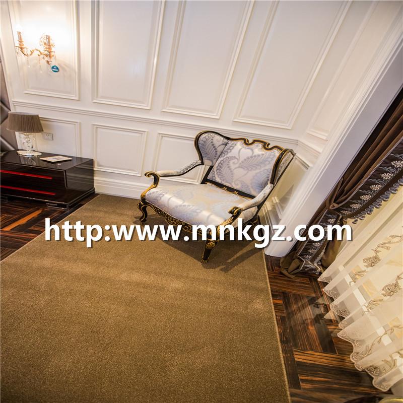 素色丙纶簇绒毯1800g高密度卧室块毯