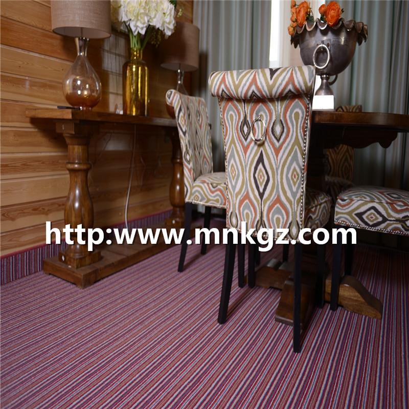 条纹满铺地毯100%羊毛楼梯专用毯