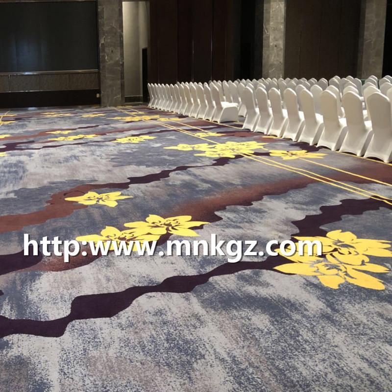 定制阿克明地毯星级酒店多功能厅地毯