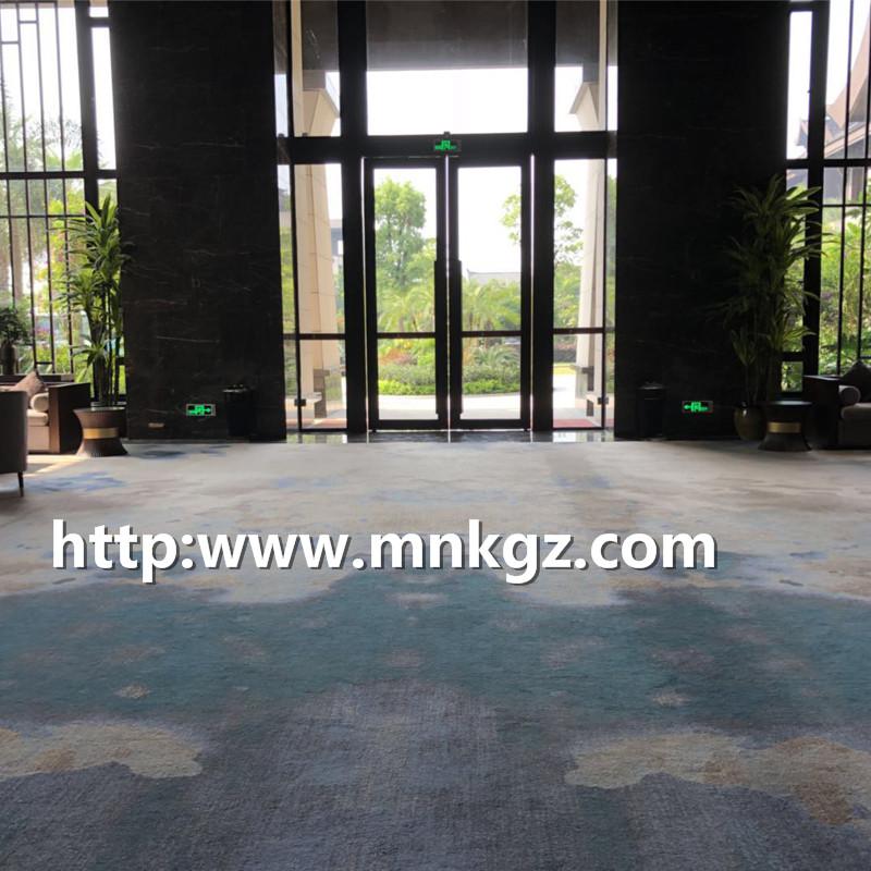 定制阿克明地毯星级酒店招待厅地毯
