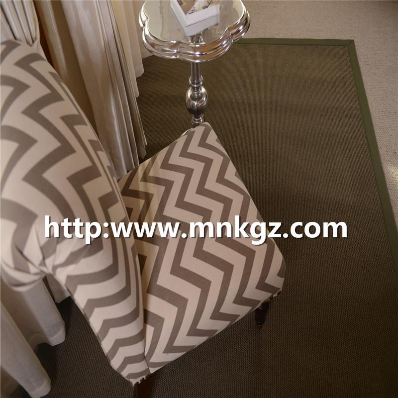 北欧素色简约地毯家用恰谈区地毯
