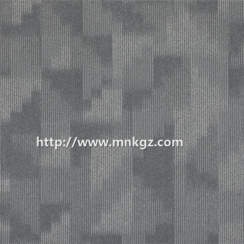 多彩图案满铺地毯100%尼龙过消防办公区域方块毯