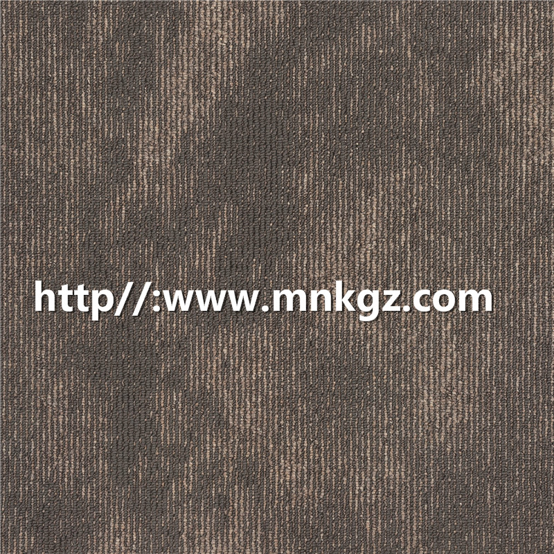 500*500mm丙纶方块毯条纹提花满铺毯