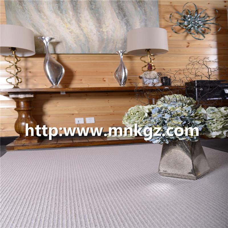 50%羊毛+50%涤纶簇绒地毯客厅装饰毯
