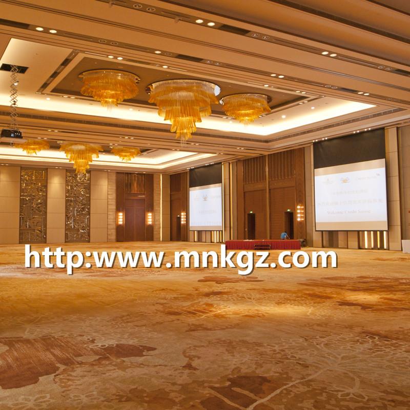 高端酒店宴会厅地毯满铺阿克明地毯