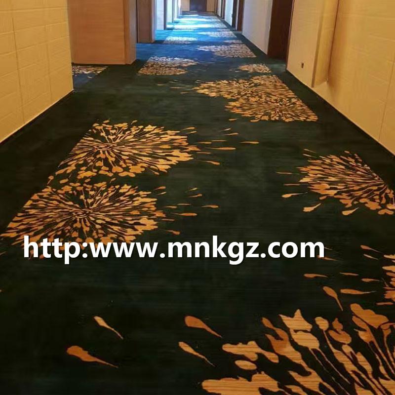 7*8阿克明楼梯地毯定制图案地毯