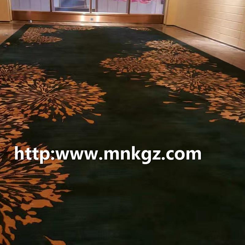 高密度走道地毯定制图案阿克明地毯