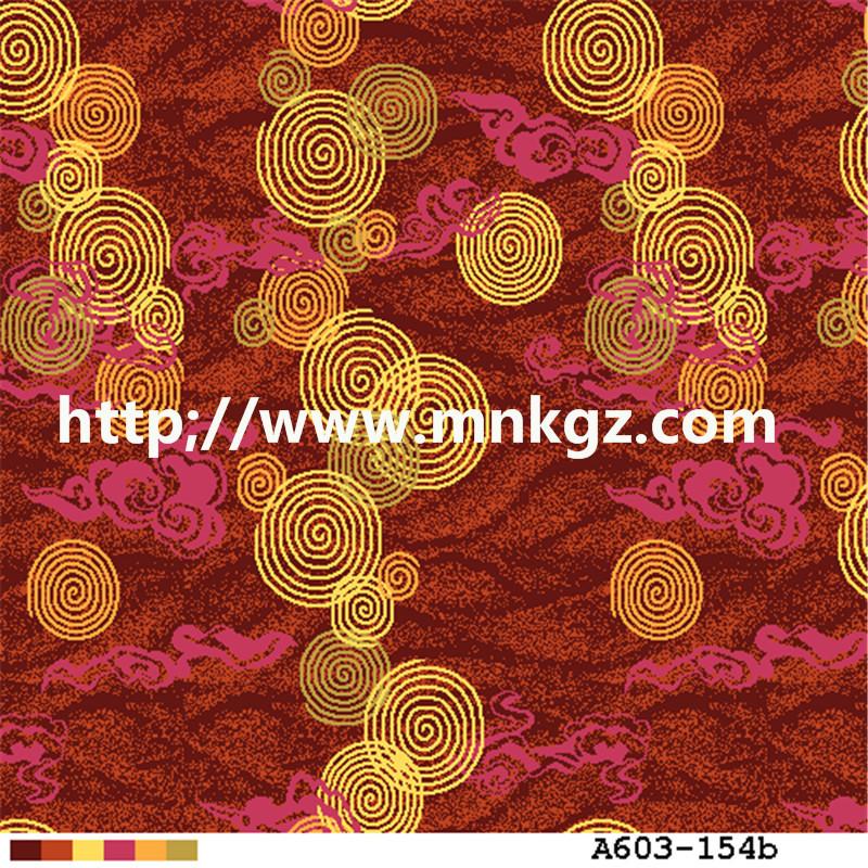 80%羊毛+20%尼龙地毯过消防阿克明定制地毯