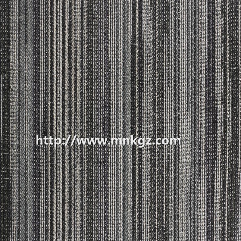 500*500mm 尼龙提花方块毯高档写字楼地毯