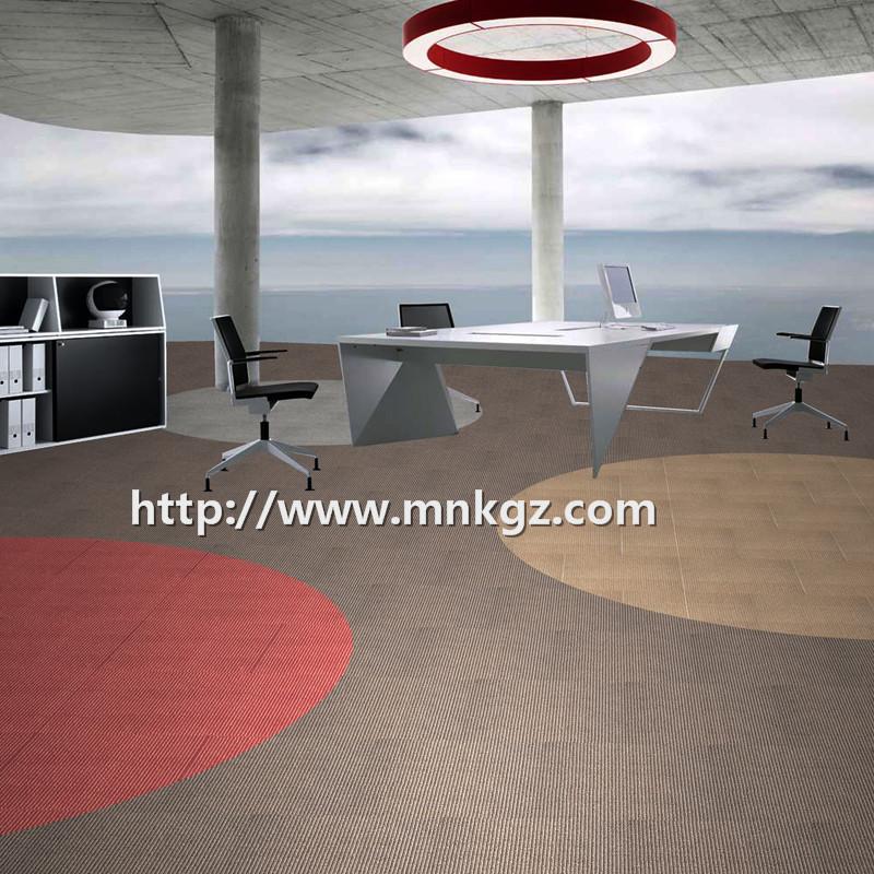 高端尼龙提花地毯满铺办公室地毯