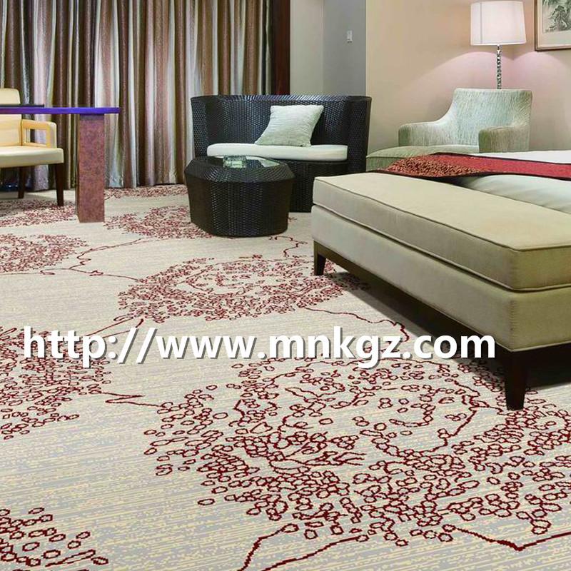 浅色系卧室地毯阿克明满铺酒店地毯