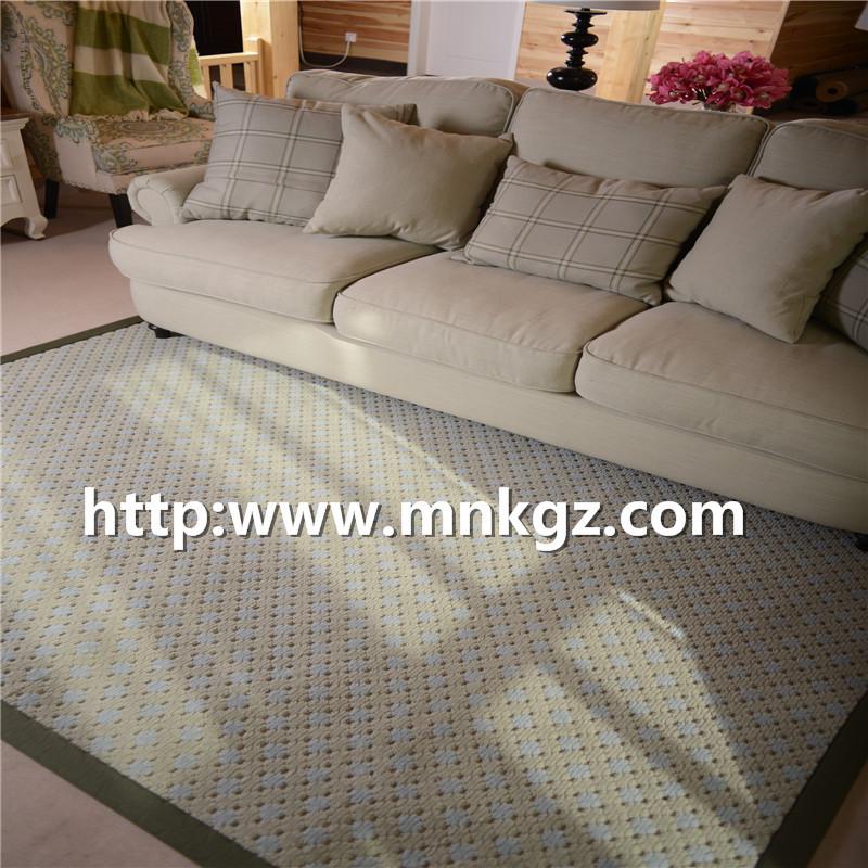 100%簇绒地毯家用客厅地毯