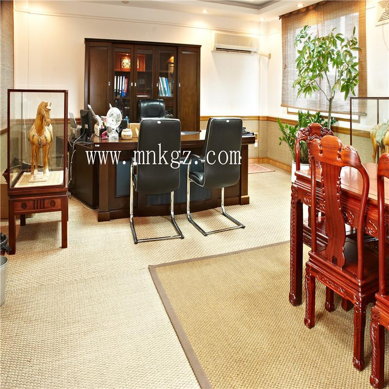 高档剑麻地毯  独特的手感设计 防尘防滑防静电 适用于办公、家用、酒店均可。