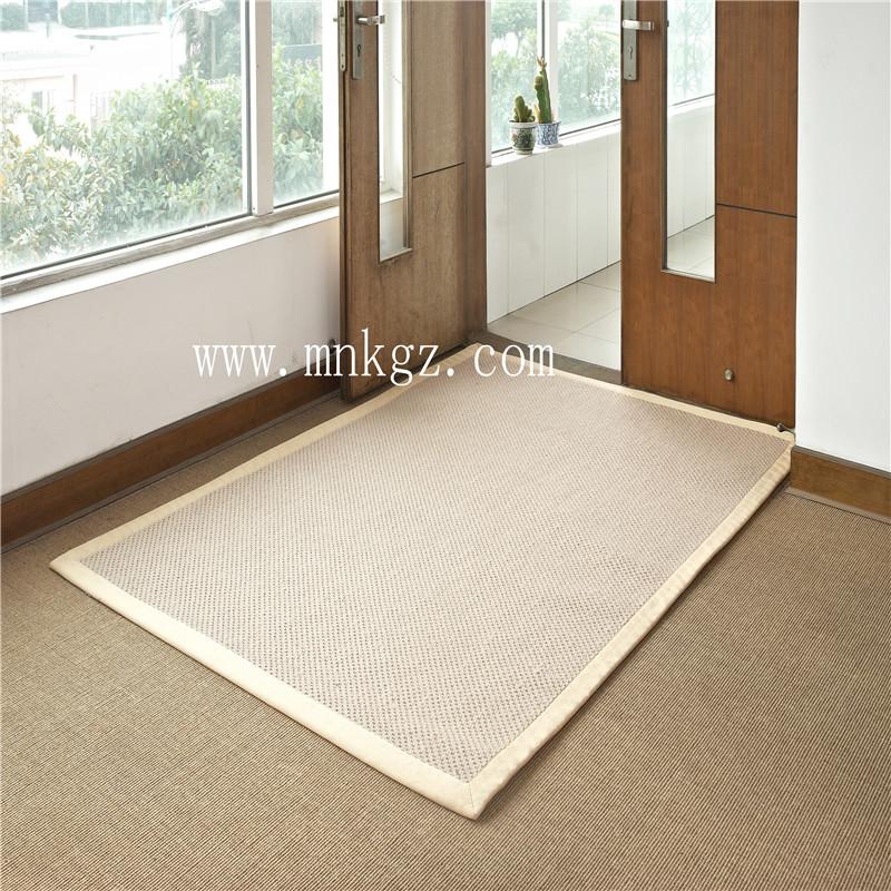 天然环保剑麻地毯  手感独特强烈 适用于卧室、客厅、厨房等。可定制