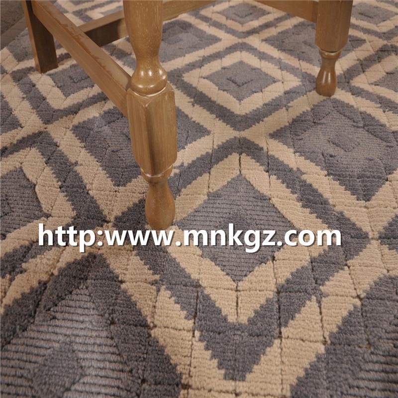 100%羊毛簇绒地毯现代客厅地毯