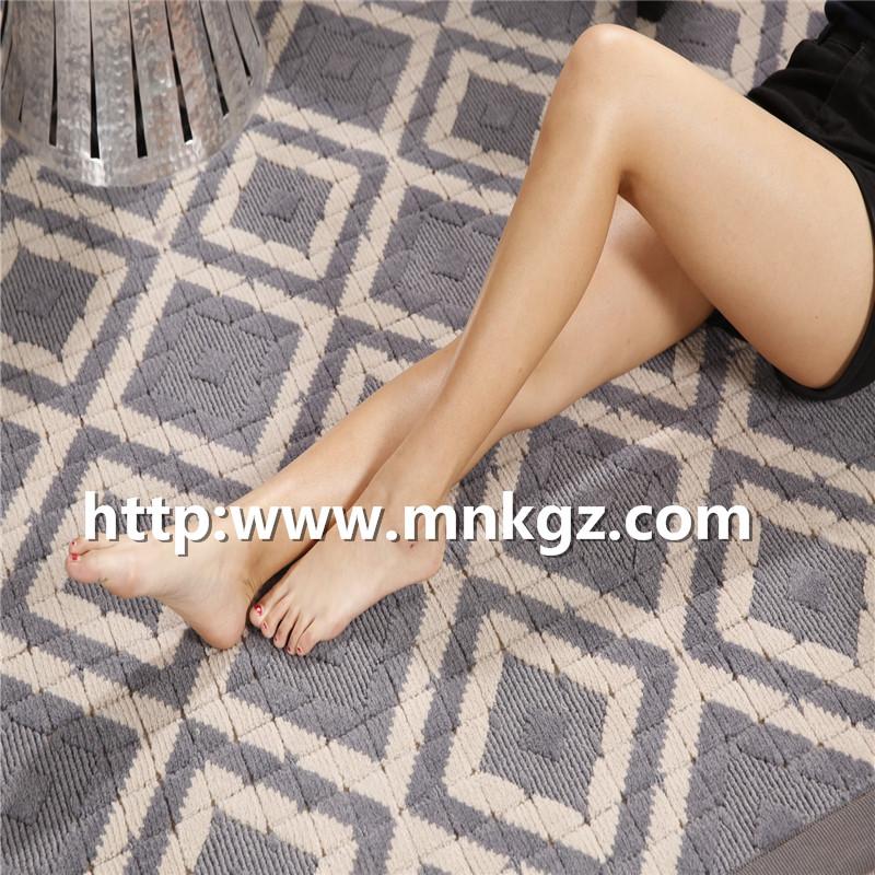 素色风格地毯100%羊毛机织地毯