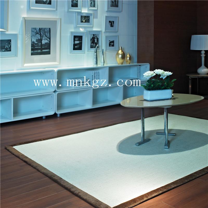 高档天然剑麻地毯  独特的手感设计 视觉感强  适用于办公区域,家用均可  可定制尺寸大小