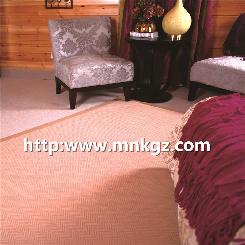 1450g机织羊毛地毯简约风格威尔顿地毯