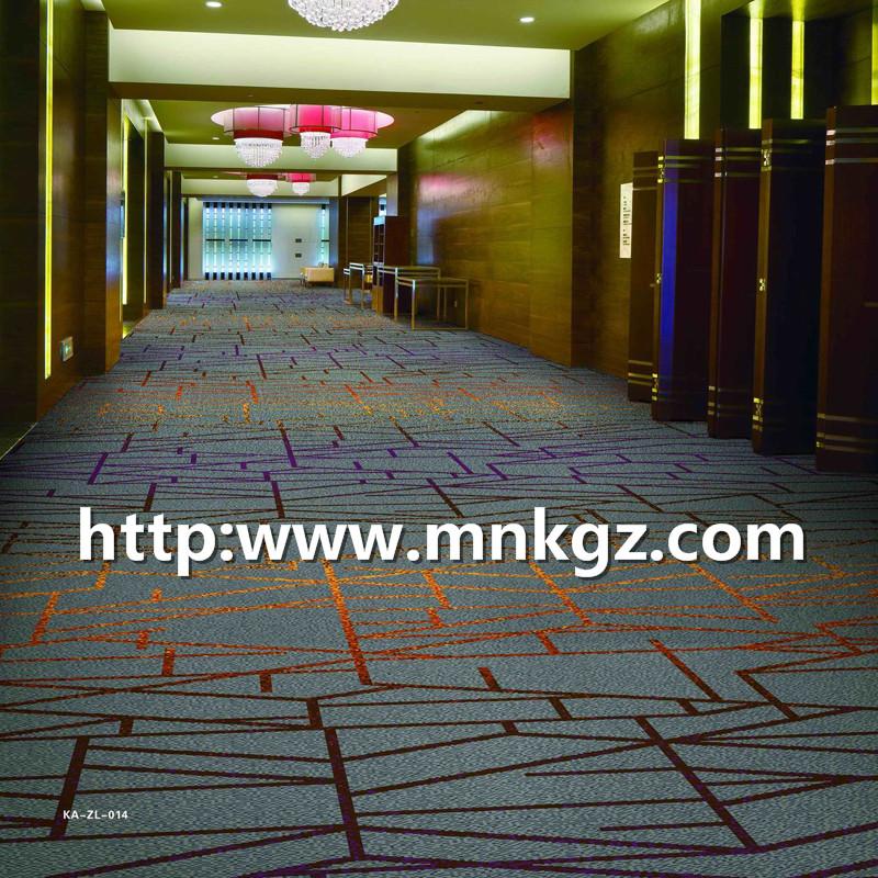 满铺走道地毯阿克明地毯80%羊毛+20%尼龙地毯