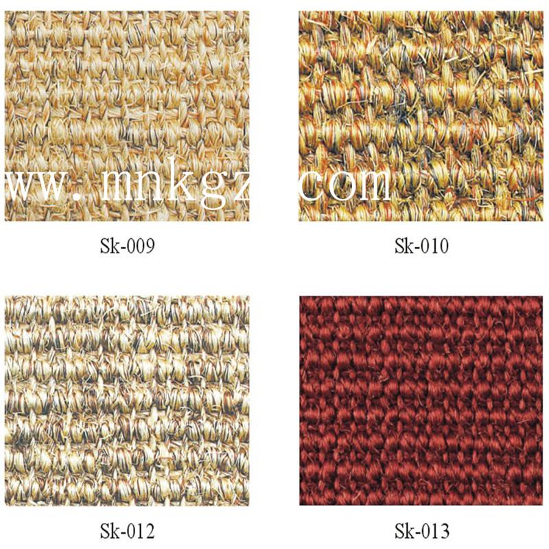 天然环保剑麻地毯  防尘防滑防静电  适用于办公区域、阳台等