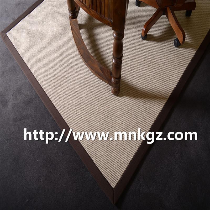 满铺纯羊毛地毯 现货块毯 北欧简约阻燃环保 高端定制家居地毯