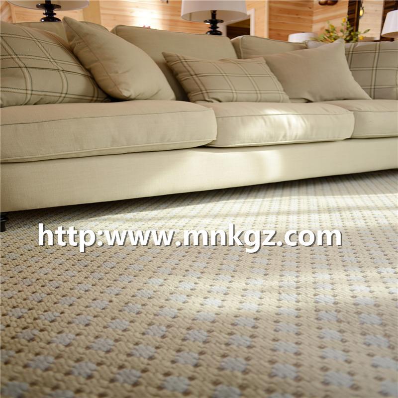 100%羊毛威尔顿地毯高档家用地毯