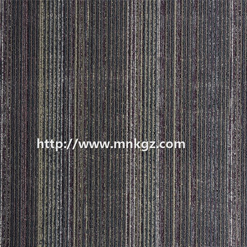 办公专用满铺地毯500*500mm 素色圈绒方块毯