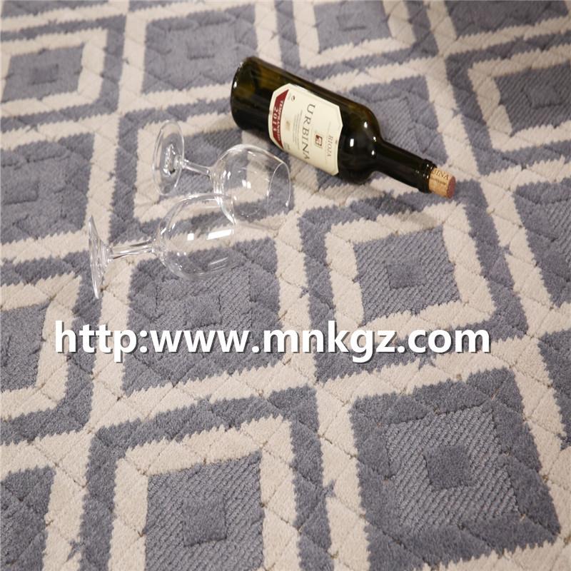 浅色系风格地毯机织100%羊毛地毯