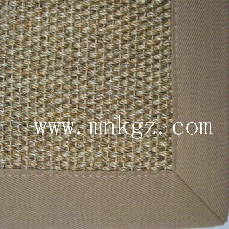 剑麻地毯 现代家居 设计美观 质地坚韧 有弹性 拉力强 耐用