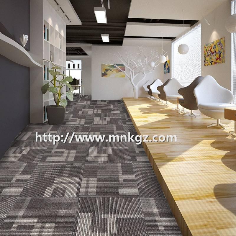尼龙方块地毯办公休闲区域地毯