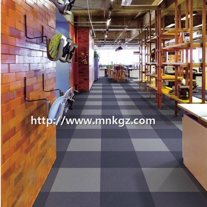 简约风格室内地毯花样拼接满铺尼龙毯