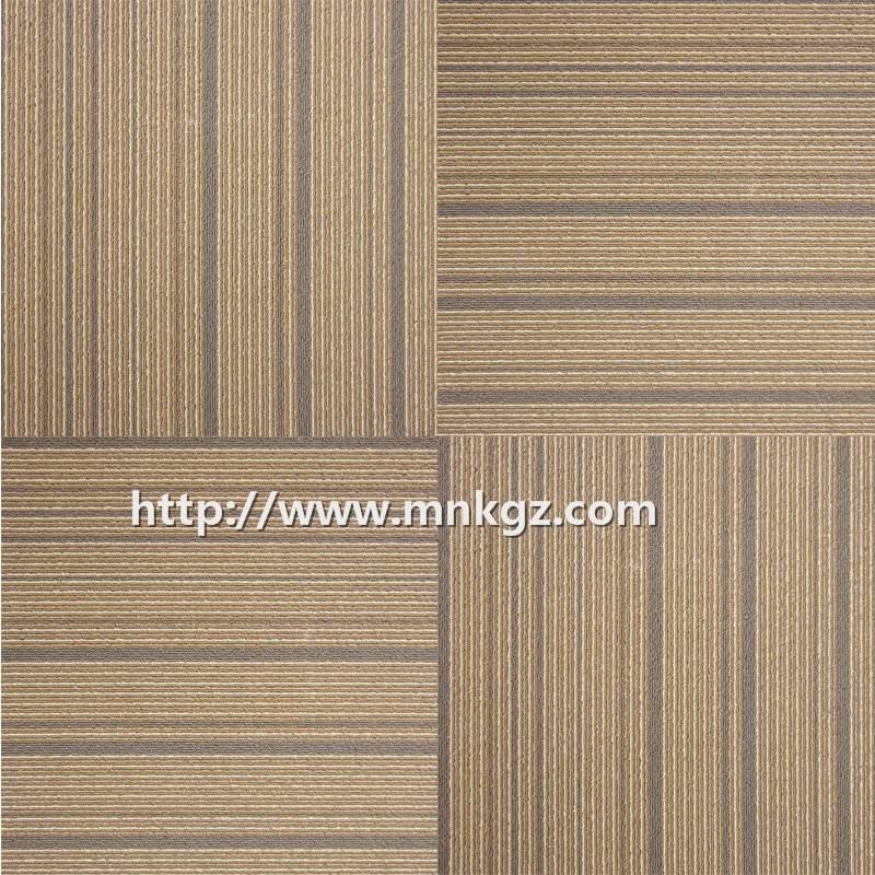 500*500mm 尼龙提花方块毯办公室专用地毯