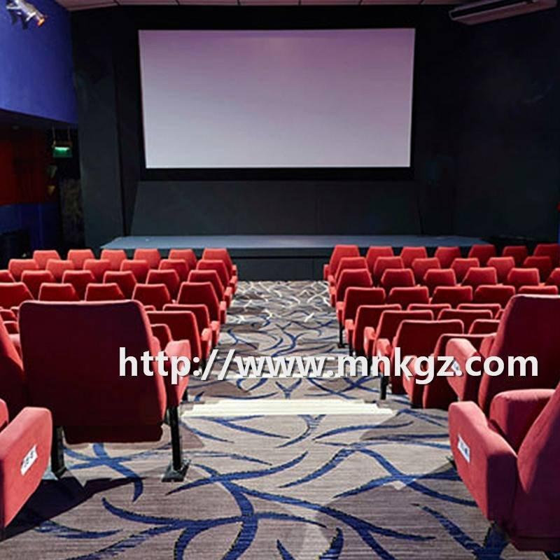 高档电影院满铺毯定制图案阿克明地毯