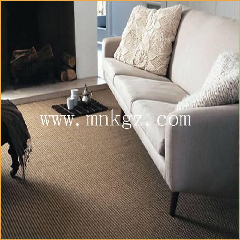 剑麻地毯 设计美观 质感独特  防电和耐磨性强  用途广