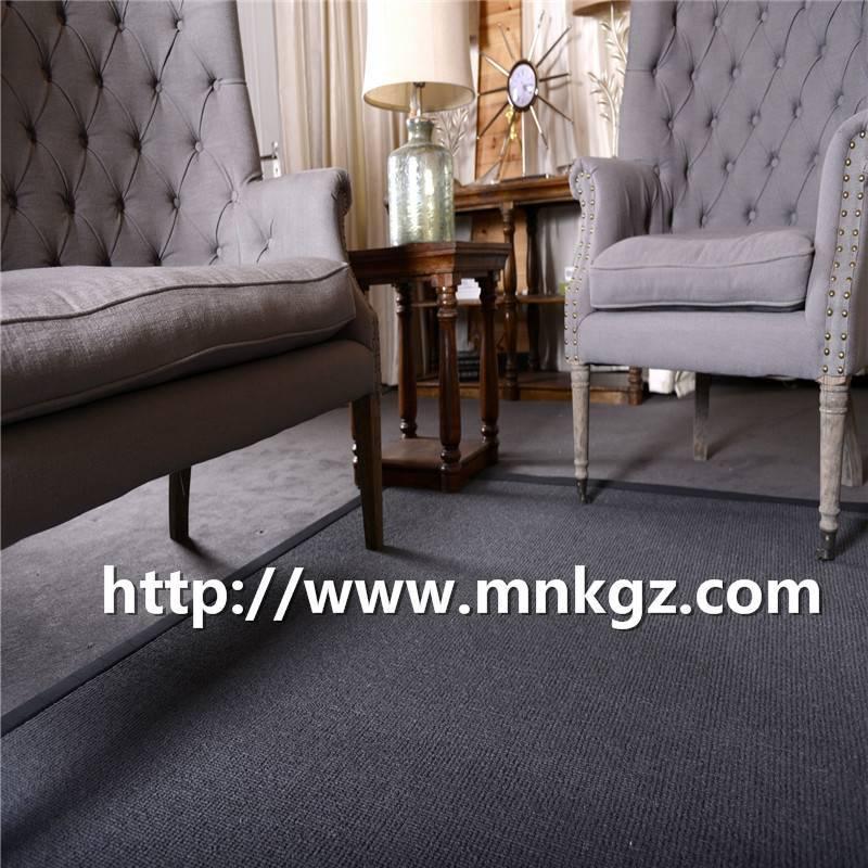 满铺纯羊毛地毯高端定制北欧简约家居地毯