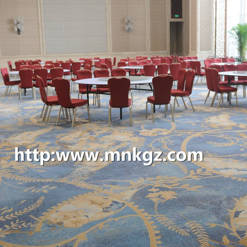 满铺阿克明地毯高端酒店宴会厅地毯
