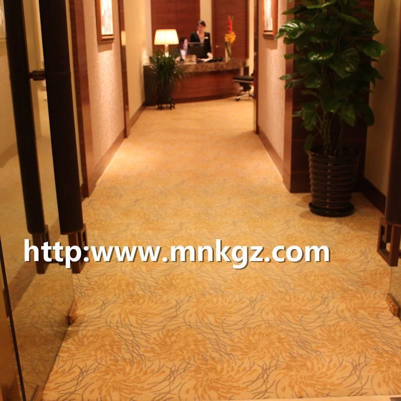 阿克明满铺地毯星级酒店走廊地毯